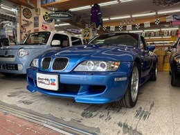 BMW Z3 Mクーペ 3.2 左H サンルーフ エストリルブルー 本革