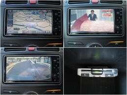 HDDナビ/フルセグTV/バックモニターも完備!!DVD再生や録音サーバー、Bluetooth&AUXも完備♪必須アイテムETCも付いてます