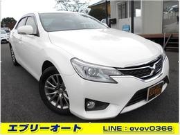 トヨタ マークX 2.5 250G イエローレーベル ナビ TV ETC ドラレコ PWシート