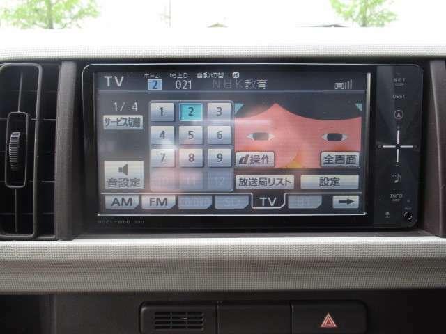 BTオーディオ CD フルセグTVどれもドライブを楽しくしてくれる嬉しいアイテムですね