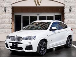 BMW X4 xドライブ35i Mスポーツ 4WD 茶革/20AW/アクティブC/ヘッドアップ/360度