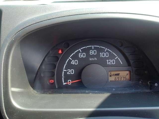 6.9万km。しっかり整備でお渡しします!
