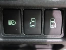 両側電動スライドドア『小さなお子様でもボタン一つで楽々乗り降り出来ます♪駐車場で両手に荷物を抱えている時でもボタンを押せば自動で開いてくれますので、ご家族でのお買い物にもとっても便利な人気装備』