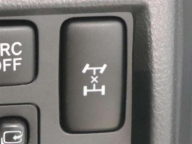 デフロック付きフルタイム4WD