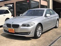 BMW 5シリーズ 528i 黒革エアーシート 純正HDDナビ