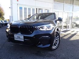 BMW X3 xドライブ20d Mスポーツ ディーゼルターボ 4WD 走行3千Km 新車保証付 ライブコックピット