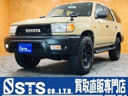 トヨタ ハイラックスサーフ 2.7 SSR-X 4WD Mud-Terrain ブラックアウト レザーシード