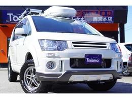 三菱 デリカD:5 2.2 D パワーパッケージ ディーゼルターボ 4WD 1オナ/リフトUP/ナビTV/Bカメ/天井モニター