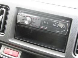 社外CDデッキ、AUX!!別途費用にてナビ取付可能です!!