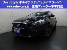 ボルボ V40クロスカントリー T5 AWDセーフティpkg 2014モデル/半革/純ナビ/Bカメ/スマート/保