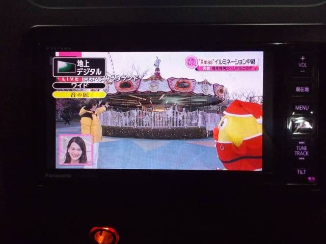 ストラーダHDDナビ 地デジフルセグテレビ CD録音 DVD再生 ブルートゥース AUX SD