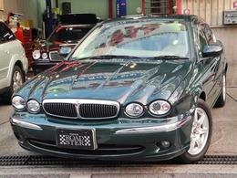 ジャガー Xタイプ 2.0 V6 SEリミテッド 屋内保管ベージュ本革DVDマルチ禁煙車