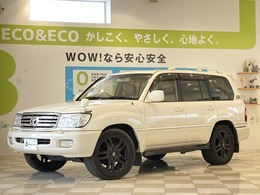 トヨタ ランドクルーザー100 4.7 VXリミテッド Gセレクション 4WD サンルーフ 社外ナビ  1NO登録 Tベル交換済