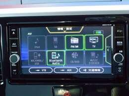 Bluetoothオーディオ対応で、好きな音楽を聴きながらドライブできます。