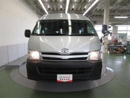 トヨタ ハイエースコミューター 2.7 GL 4WD 15人乗り メモリナビ ETC