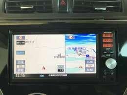 こちらのお車のナビはTVの視聴・bluetoothなどがお使いいただけます!!