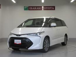 トヨタ エスティマ 2.4 アエラス 4WD 認定中古車 ナビ LEDヘッドライト アルミ