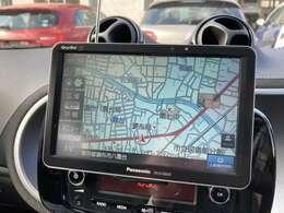 ナビ装備!ワンセグTV,Bluetooth接続でスマートフォン内の音楽再生可能!