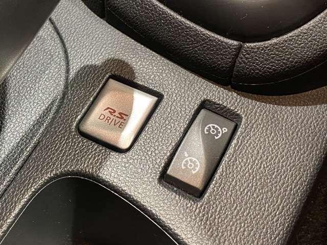 R.Sボタンを押すとスポーティーな走りに変化します!