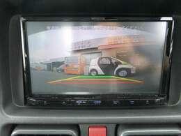 ◆2.後方の安全確認がしやすいバックカメラも装備されています!