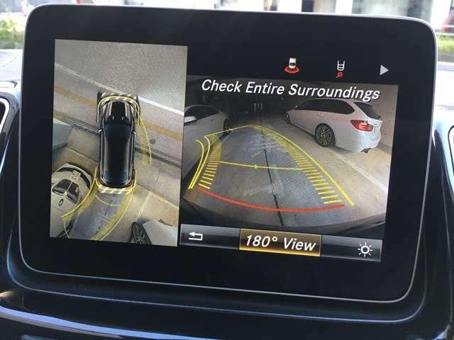 360°カメラ で、パーキングもスムーズにできます