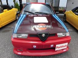 アルファ ロメオ アルファ155 V6 ブレンボ チタンマフラー 3000cc