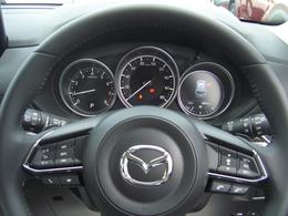 ハンドルにはオートクルーズスイッチ付き!!スイッチ一つで簡単操作!!高速走行での運転が楽になります!!燃費UPにも貢献します!!
