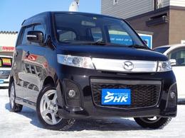 マツダ AZ-ワゴン 660 カスタムスタイル XT-L 4WD 夏タイヤ積込 プッシュスタート
