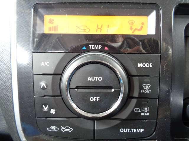 便利オートエアコン付き☆☆好きな温度に設定すれば自動的に温度を調整しくれます☆暑すぎず、寒すぎず快適空間をサポートします☆また上級グレードの証です☆