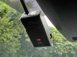 事故の時も安心ドライブレコーダー付き
