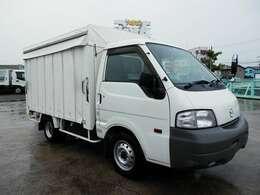 H25 マツダ ボンゴ カーテン車 平ボディ 積載1000kg 走行48000km ボディ内寸長さ2710 幅1520 高さ160