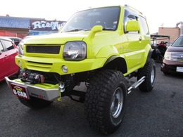 スズキ ジムニーシエラ 1.3 ランドベンチャー 4WD 1800ccボディーリフトUPバックカメラ