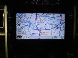 純正の大画面8インチメモリーナビを装備しています☆大画面なので地図が確認しやすくTVやDVDも大きな画面で楽しんでいただけます☆TVはもちろん綺麗な画像のフルセグです!