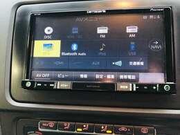 【カロツェリアナビゲーション7型ナビゲーション 地デジ・CD/DVD再生・SD再生 Bluetooth等 多彩なメディアから選択可能です!】