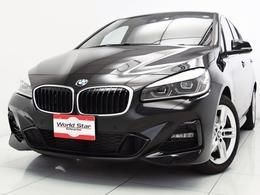 BMW 2シリーズグランツアラー 218d xドライブ Mスポーツ 4WD Mエアロダイナミクスパッケージ/禁煙車