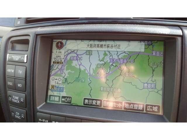 ナビも地図新しいです!