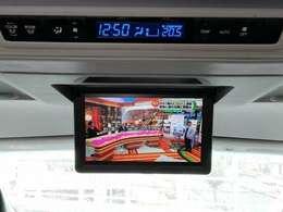 12.1型リヤシ-トエンタ-テインメントシステムで後ろでもテレビみれます!