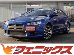 三菱 ランサーエボリューション 2.0 GSR X プレミアムパッケージ 4WD メーカーナビロックフォードプレミアムS