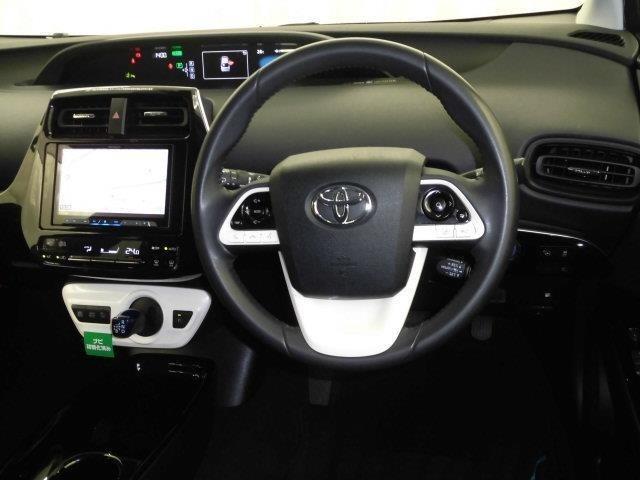 ドライバー目線からの画像です!視界が広く、周囲も見やすいので安心して運転して頂けます。