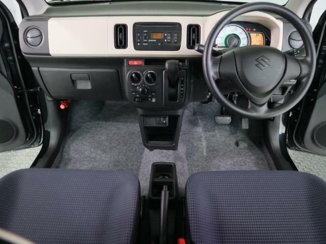 広い視界、運転しやすいです。