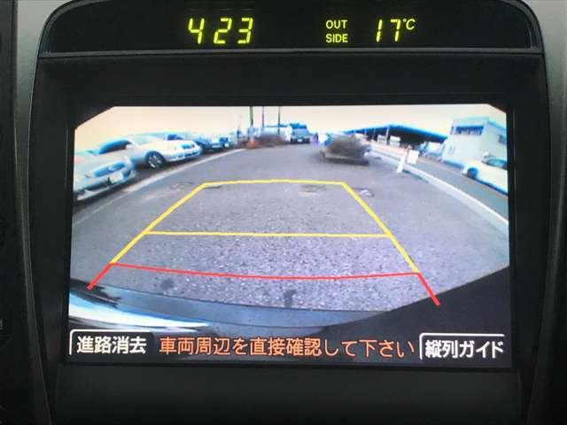 ☆駐車時には大助かりバックカメラ♪