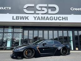日産 GT-R 3.8 プレミアムエディション 4WD LBWKフルコンプリートカー タイプ1