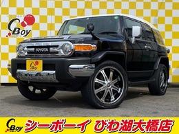 トヨタ FJクルーザー 4.0 カラーパッケージ 4WD 社外22インチAW