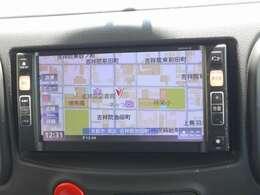 純正品のワンセグ放送対応SDナビで遠出や初めての場所でも安心ですね!