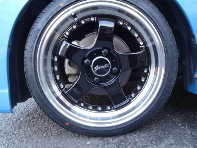 タイヤも当然新品です♪
