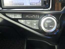 このオートエアコンなら、スイッチひとつで自動で車内の温度を快適に保つことが出来ますよ♪
