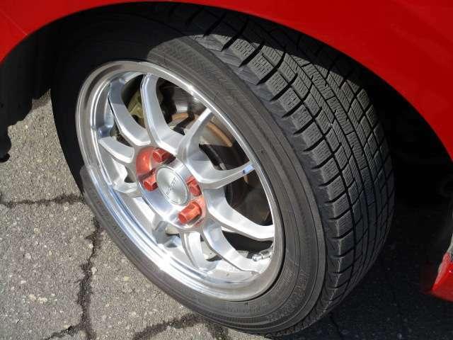 タイヤサイズは、155/65R14です。夏タイヤも後日入荷します!