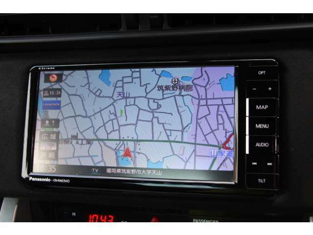 ストラーダのSDナビ付なのでドライブも安心ですね!!Bluetooth対応!!