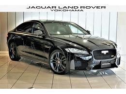 ジャガー XF 300スポーツ 2.0L P300 限定車 法人1オーナー 黒革 LEDヘッド ACC