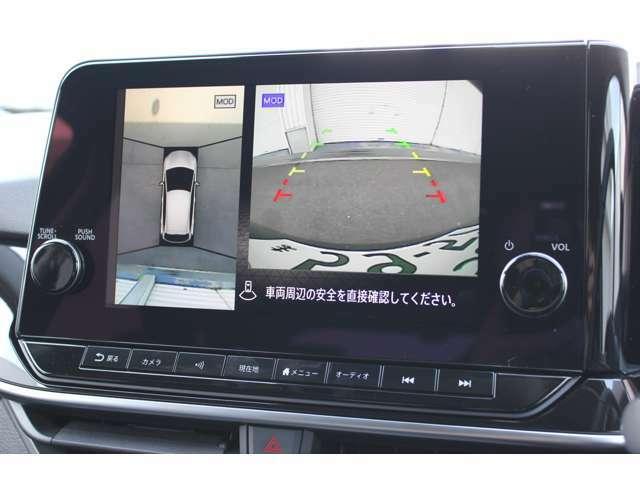 2.バックカメラは純正オプションのアラウンドビューモニター仕様となっております☆